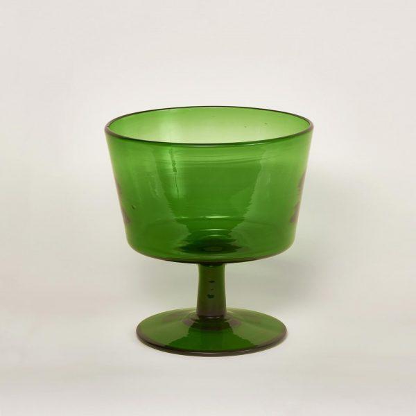Vase chinage coupe verte
