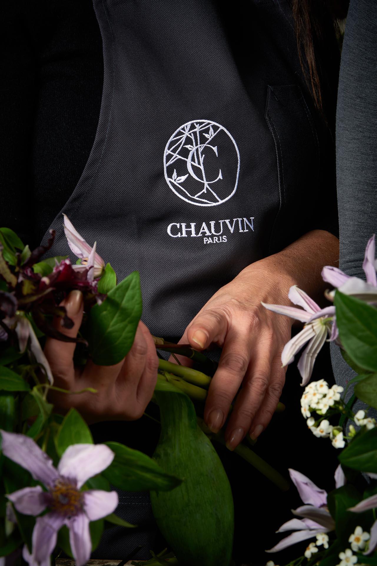 Eric Chauvin - Tablier de fleuriste