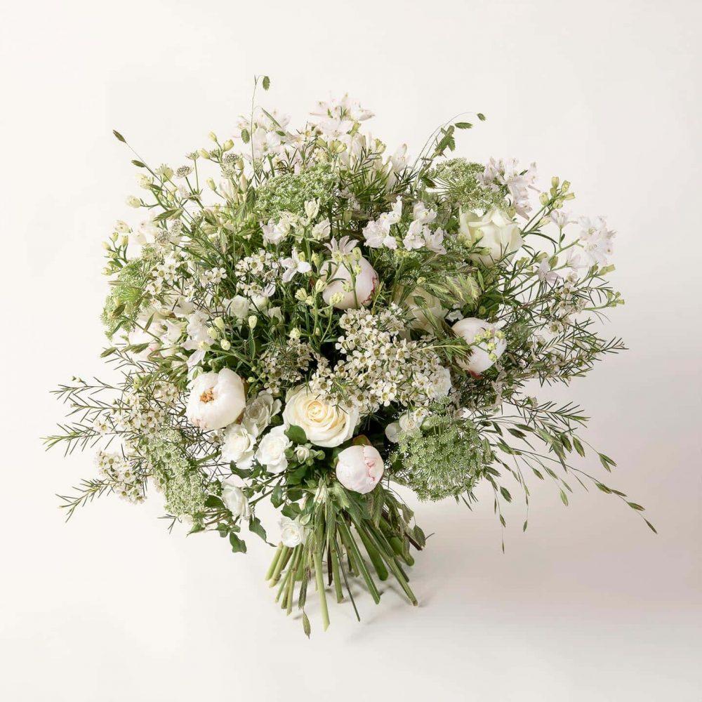 Bouquet de fleurs blanches - le Bucolique