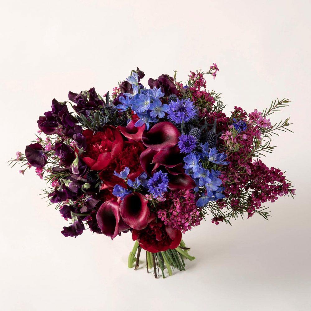 Bouquet de fleurs fraîches et végétaux