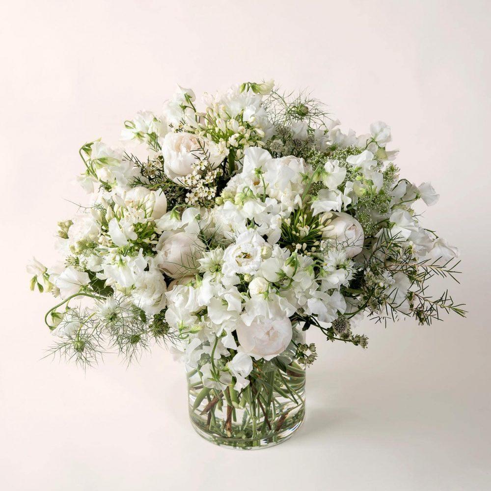 Bouquet de fleurs blanches - l'Exquis