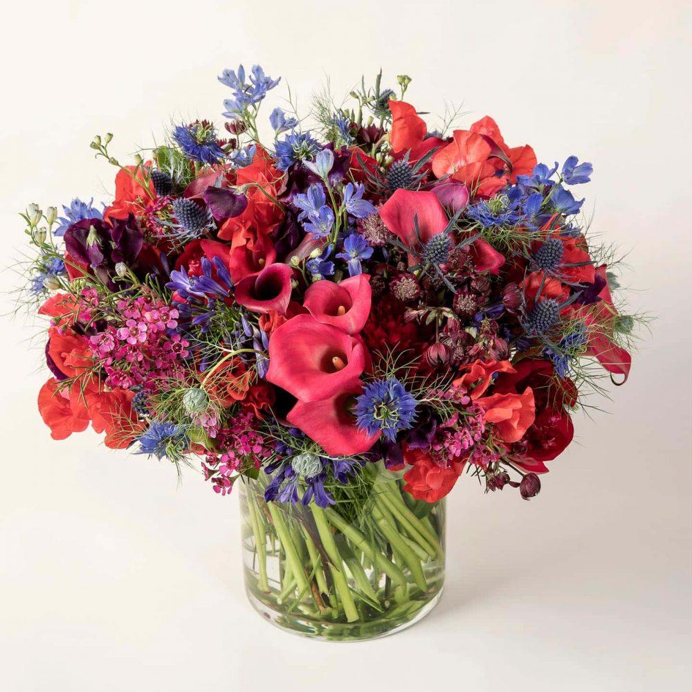 Bouquet de fleurs de saison - le Voluptueux
