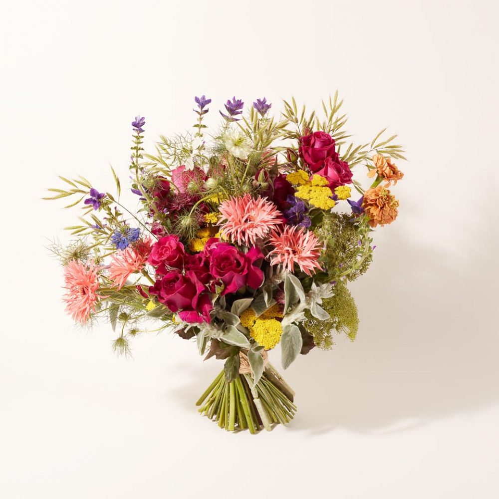 Bouquet of flowers and plants