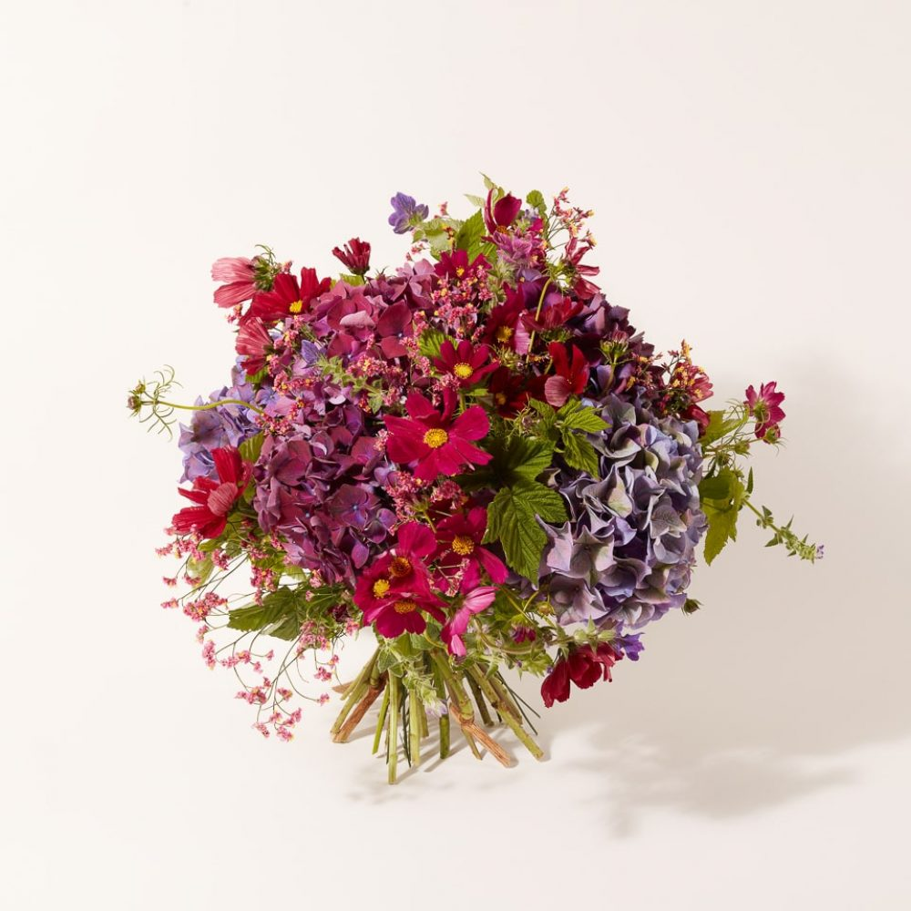 Pastel flower bouquet