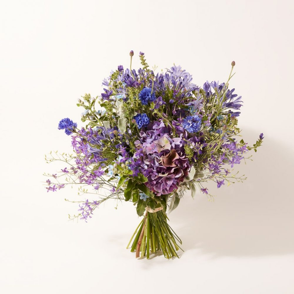 Bouquet of fresh flowers and plants